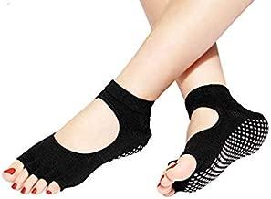 STRAUSS Unisex Adult ST-1329 Women Yoga Socks - Black, Small