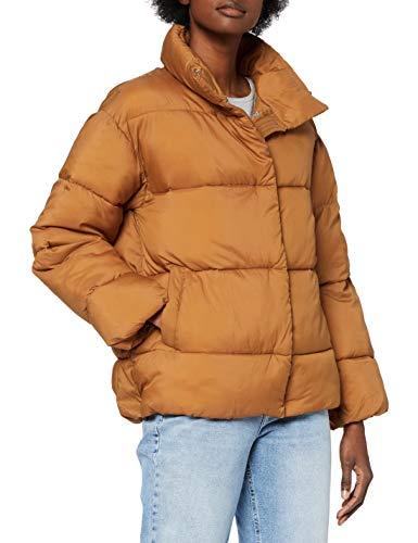 Teddy Smith 32015030D Jacket, Orange Topaze, Medium Femme