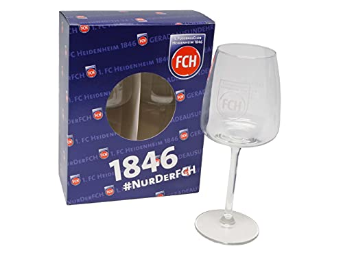 1. FC Heidenheim 1846 Eventgläser 2er Set   FCH604