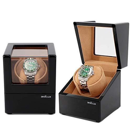 WXDP Enrollador de Reloj automático,Enrolladores de Relojes domésticos para Relojes automáticos, Relojes de Lobo, Relojes, Caja de batería Rolex, alimentad