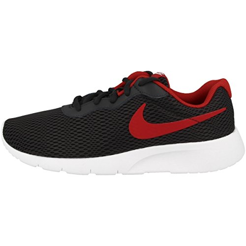 Nike Nike Jungen Tanjun (GS) Zehenkappen, Mehrfarbig (Anthracite/University Red-White), 36 EU
