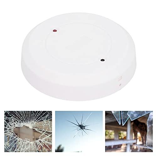 Sensor de ruido de rotura de vidrio, sensibilidad ultra alta Detección fuerte Micrófono omnidireccional Detector de rotura de vidrio para protección contra ladrones para la seguridad
