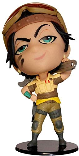 Qivor Tom Clancy's Rainbow Six Collection Gridlock Chibi 4' Figurine Figure from Games Gifts