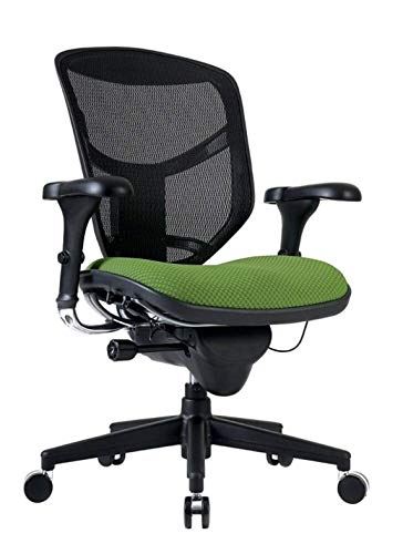 WorkPro Quantum 9000 Series Mesh/Fabric Mid-Back Manager's...