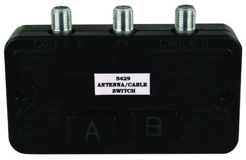 Price comparison product image JR Products 47845 Cable TV A / B Switch Box