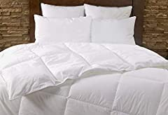 MARRIOTT GUEST FAVORITE - Bring the comfort of your favorite Marriott Hotels home with the Marriott Hotel Down Alternative Duvet Comforter, designed exclusively for Marriott Hotels and enjoyed by millions of guests worldwide. HYPOALLERGENIC - Our Mar...
