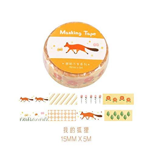 Leckeres Brot Soda Washi Tape Klebeband Klebeband Dekorative Diy Stick Label Escolar Papelaria