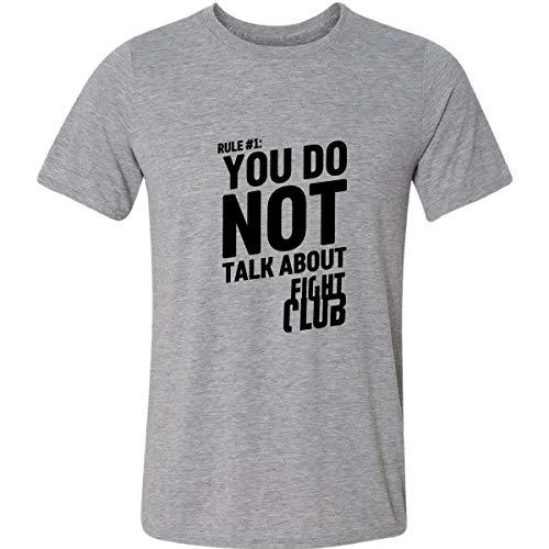 Camiseta You Not Talk About Fight Club Clube Da Luta Regra
