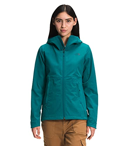 The North Face Women's Shelbe Raschel Hoodie, Shaded Spruce Heather, XS