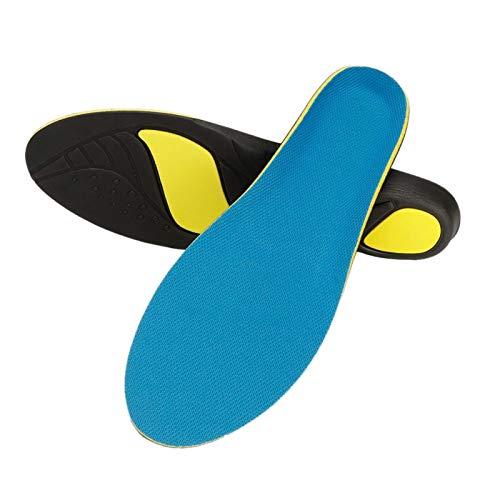 Uxsiya Plantilla de Zapatos Cojín de Zapatos cómodo para aliviar el Dolor para Uso Diario para la Salud de los pies para Uso doméstico(M)