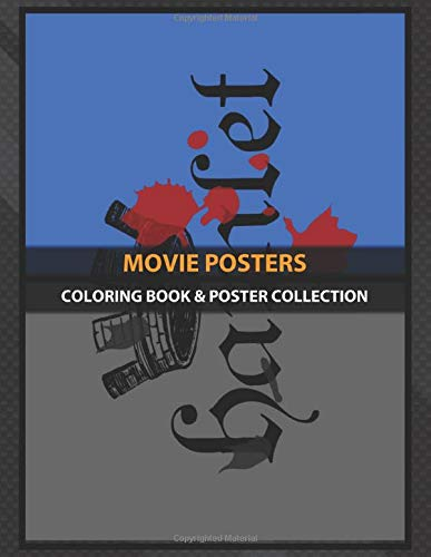 Coloring Book & Poster Collection: Movie Posters Hamlet Classic Movies