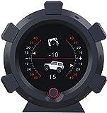 AUTOOL X95 GPS Velocímetro MPH Inclinómetro de automóvil Medidor de inclinación de nivel...