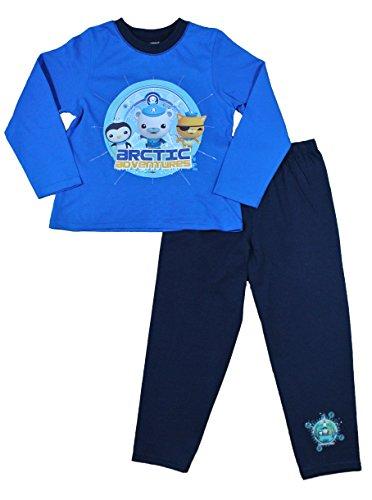 ThePyjamaFactory Jungen Oktonauten Arctic Adventures 3 bis 6 Jahre W15 Gr. 2-3 Jahre, blau