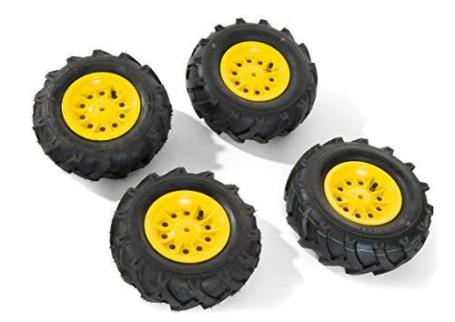 Rolly Toys 409303 - Luftbereifung (für RollyToys Fahrzeuge, Größen: 2 Stück 325x110 / 2 Stück 310x95)