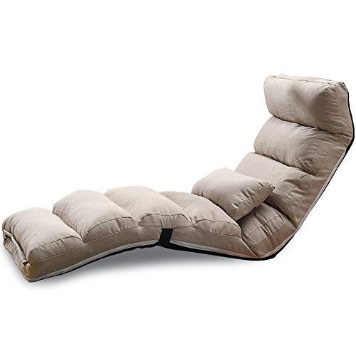 Bodensofa, Kreative Sackleinen Faul Sofa Stilvolle TATAMI Klapp Waschbare Mini-Schlafsofa Rückenlehne Stuhl Fenster Liegestühle,3