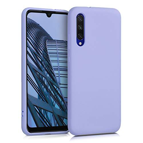 kwmobile Coque Compatible avec Xiaomi Mi A3 / CC9e - Housse de téléphone Protection Souple en TPU Silicone - Lavande