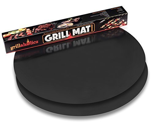 Grillaholics Grill Mat Round - As Featured on...