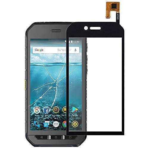 Tangyongjiao Piezas de Repuesto del teléfono Celular Panel táctil for Cat S41 5 Pulgadas Accesorio de Repuesto (Color : Black)