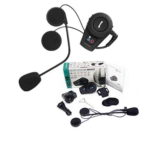 Phil Beauty Bluetooth E Intercomunicador para Motos Distancia 500M Intercomunicador 6H Utilizado para Esquí Y Motos De Nieve ATV Manos Libres Impermeable GPS MP3