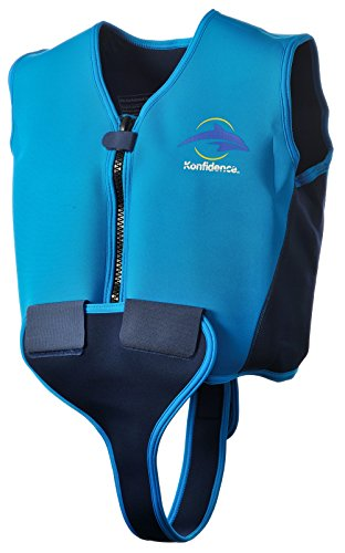 Konfidence Junior Schwimmweste, Blau / Dunkelblau 10 - 12 years old