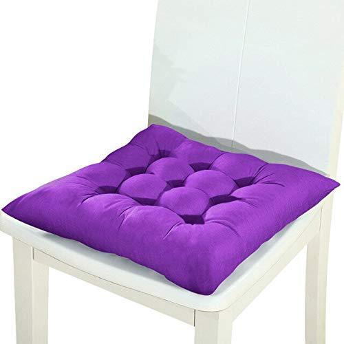 RAQ 1/2/4 stuks Home stoel, zacht, kussen voor winter, kantoor, bar, stoel, kussen voor achterbank, bankkussen, stoelkussen, 37 x 37 cm, 2 stuks, 16 stuks