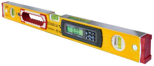 Stabila 36524 24-Inch Electronic Dust and Waterproof IP65 TECH Level with Case -