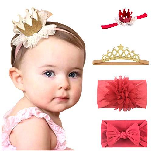 Little Beauty – Juego de diademas para el pelo, diadema para bebé...