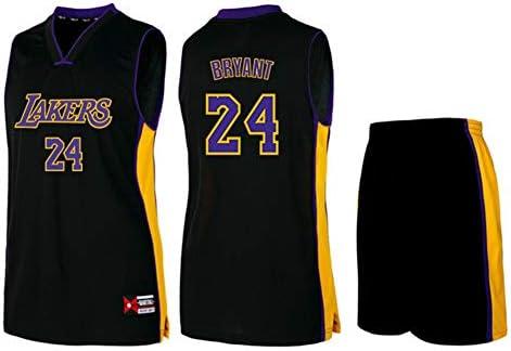 Men's Jersey - NBA Los Angeles Lakers #24 Kobe Bryant Basketball ...