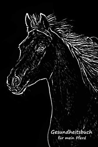 Gesundheitsbuch für mein Pferd: Mit einer sinnvollen Vorlage Verletzungen & Krankheiten Deines Pferdes aufschreiben - Krankengeschichte - Krankenakte - Pferdekrankheiten