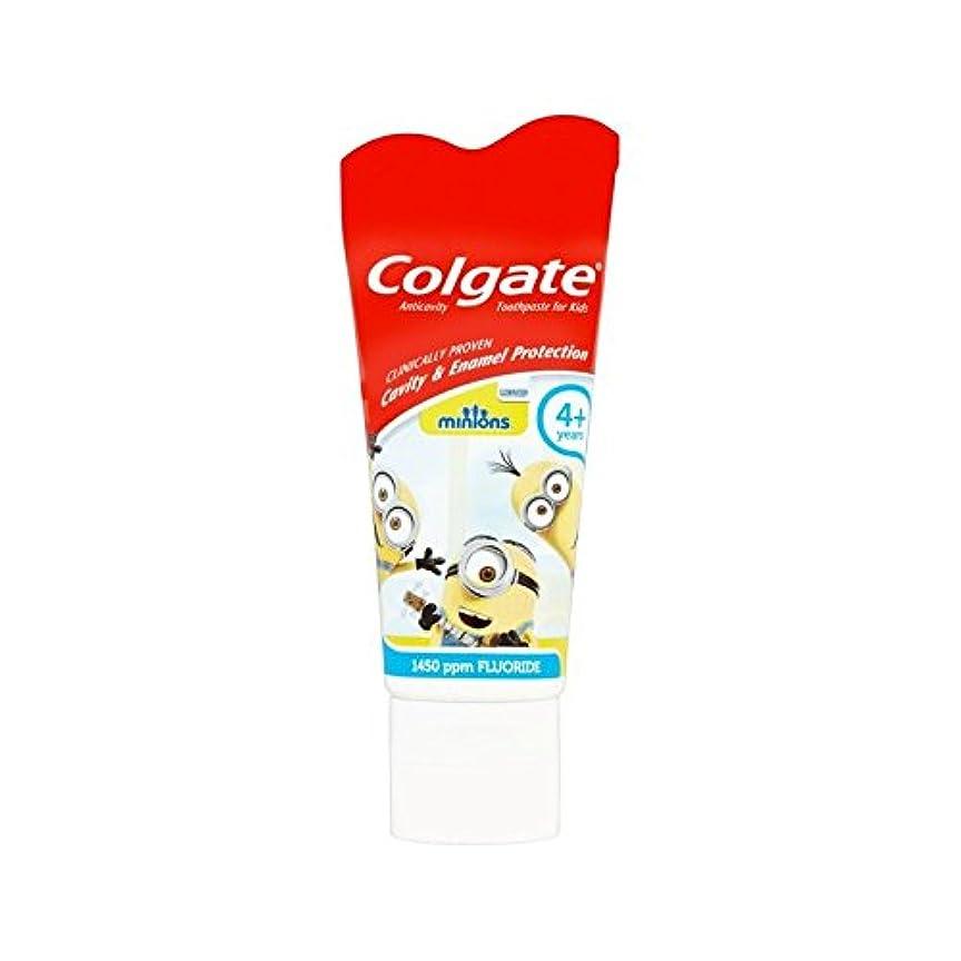 輪郭発揮するほのめかす手下の子供4+歯磨き粉50ミリリットル (Colgate) (x 6) - Colgate Minions Kids 4+ Toothpaste 50ml (Pack of 6) [並行輸入品]