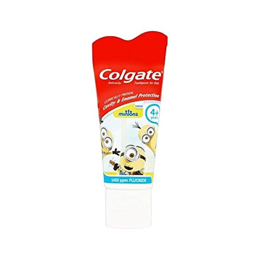 瞑想殺人者画面手下の子供4+歯磨き粉50ミリリットル (Colgate) (x 4) - Colgate Minions Kids 4+ Toothpaste 50ml (Pack of 4) [並行輸入品]