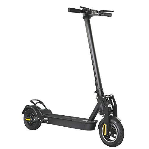 E-Scooter mit Straßenzulassung, 500 W Motor, 60 km Reichweite, 10 Zoll Luftreifen, Scheibenbremse, nur 19 kg,...