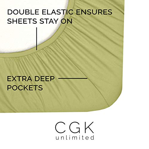 CGK Unlimited 4-piece King Size Sheet Set