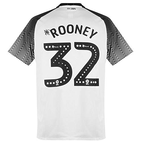 Umbro Derby County Home Rooney 32 Trikot 2019-2020 - XL