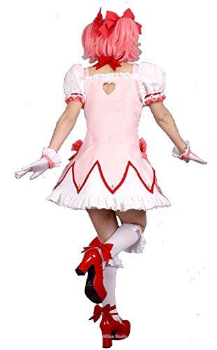 『MilicaBooks 魔法少女まどか☆マギカ 鹿目まどか ウィッグセット Mサイズ ソウルジェム付 コスプレ 衣装』の2枚目の画像