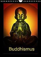 Buddhismus (Wandkalender 2022 DIN A4 hoch): Buddha kreativ gestaltet! (Monatskalender, 14 Seiten )