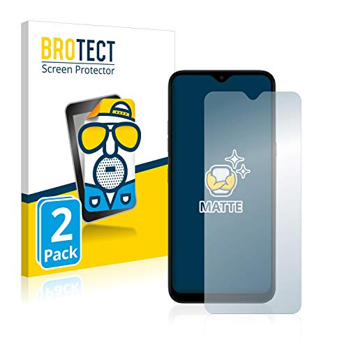 BROTECT 2X Entspiegelungs-Schutzfolie kompatibel mit LG K41S Bildschirmschutz-Folie Matt, Anti-Reflex, Anti-Fingerprint