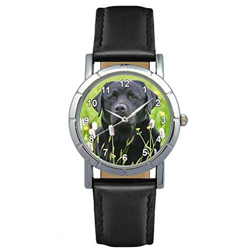 Timest - Labrador Negro - Reloj para Mujer con...
