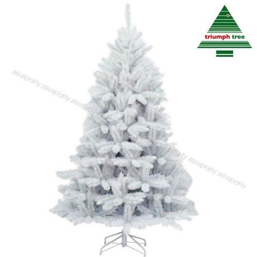 Albero di natale H260 Bianco Iridescente