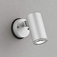 ODELIC(オーデリック) 【工事必要】 アウトドア・エクステリア LEDスポットライト 【JDR75W相当】 マットシルバー:OG254720