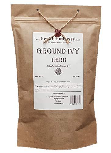 Health Embassy Gundermann Kraut Tee (Glechoma hederacea L.) / Ground Ivy Herb Tea, 50g