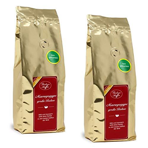 Paulsen Kaffee Mexiko Maragogype 500g im 2er Pack (fein gemahlen)