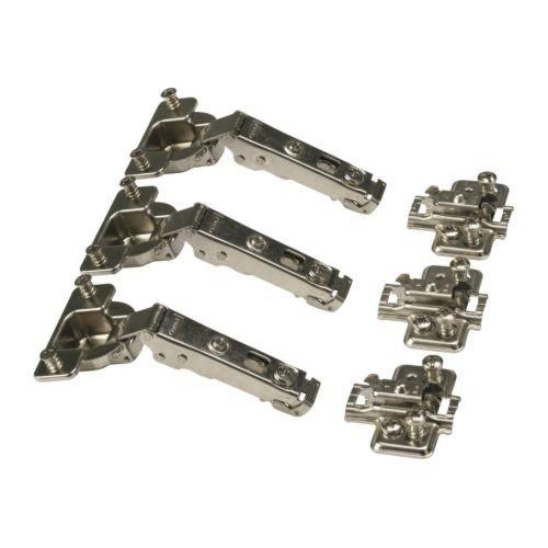 Ikea KOMPLEMENT Scharniere 3 Stück