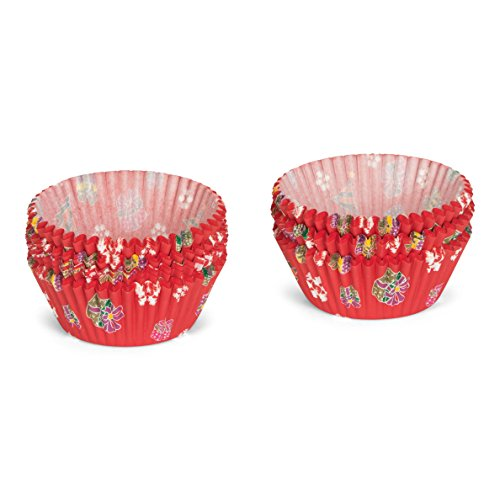 Patisse Cupcake Lot de 200 caissettes en papier Rouge 5 x 5 x 5 cm