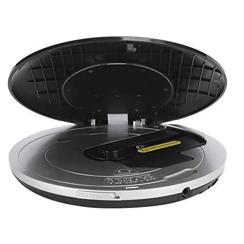 fasient1 Tragbarer CD-Player, 2-Zoll-LCD-Display Persönliche CD/CD-R/CD-RW/MP3/WMA-Player Unterstützung USB/AV/Multimedia-Karte/Speicherkarte/Für MS-Kartenleser für Autokinder Hörbücher