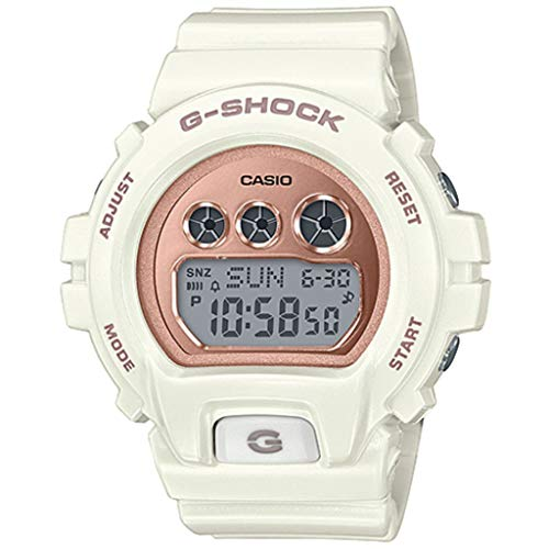 Casio Damen Digital Quarz Uhr mit Plastik Armband GMD-S6900MC-7ER
