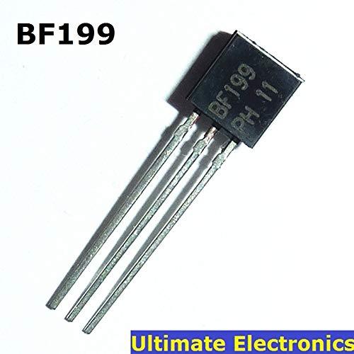 10 Stück BF199 TO-92 NPN Mittelfrequenztransistor