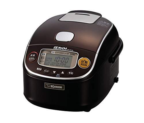 象印マホービン (ZOJIRUSHI) 炊飯器 圧力IH式 3合 極め炊き プラチナ厚釜 B078TGLGG6 1枚目