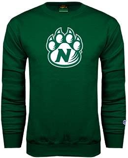 Northwest Missouri State Dark Green Fleece Crew 'Official Logo'