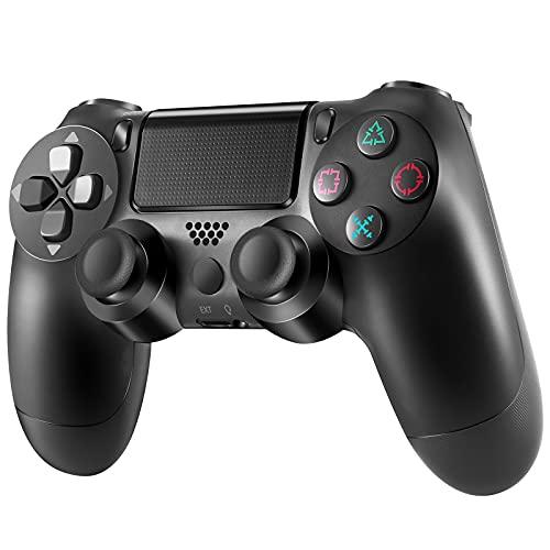Manettes sans fil pour PS4, Manettes pour PS4, Pro Manette pour PS4, manette de jeu PS4 Manette PS4 Controller Manette de jeu avec Turbo Dual Shock Joysticks